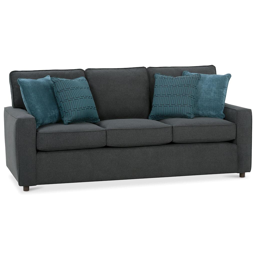 Rowe Monaco 89 Queen Size Sleeper Sofa Belfort Furniture  ~ Queen Size Pull Out Sofa