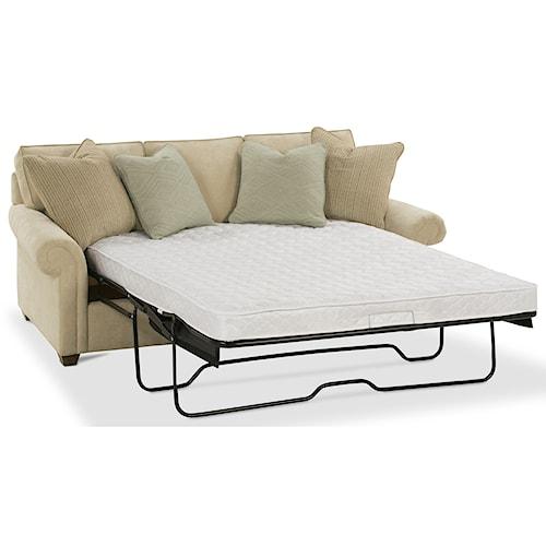 Rowe Morgan Traditional Queen Sleeper Sofa