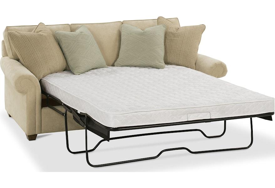 Morgan Traditional Queen Sleeper Sofa