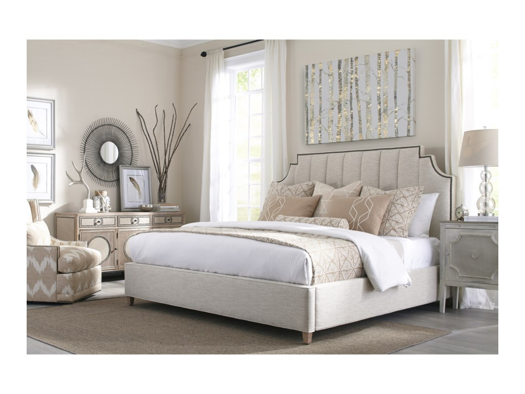 Rowe My Style - BedsLindley 54'' Queen Upholstered Bed