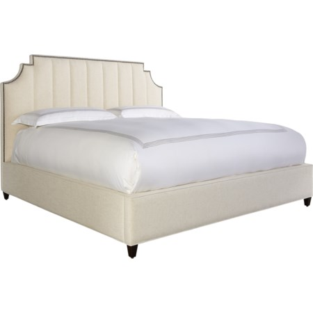 Lindley 60'' Queen Upholstered Bed
