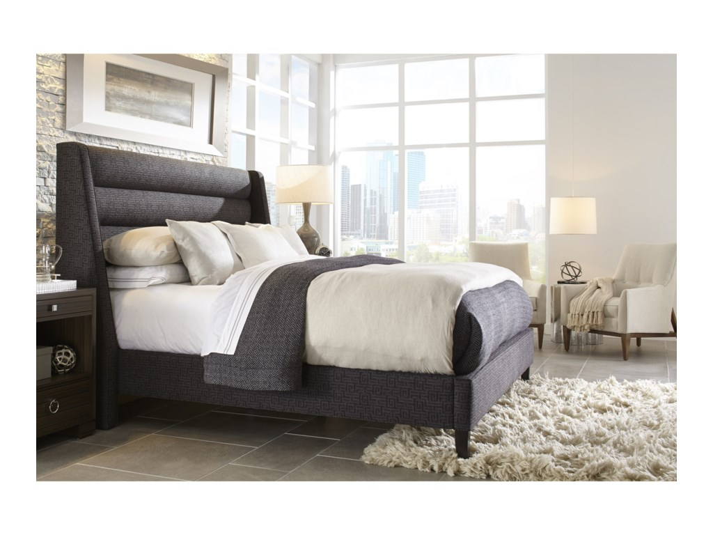 Rowe My Style - BedsIvy Lane 54'' Upholstered Queen Bed