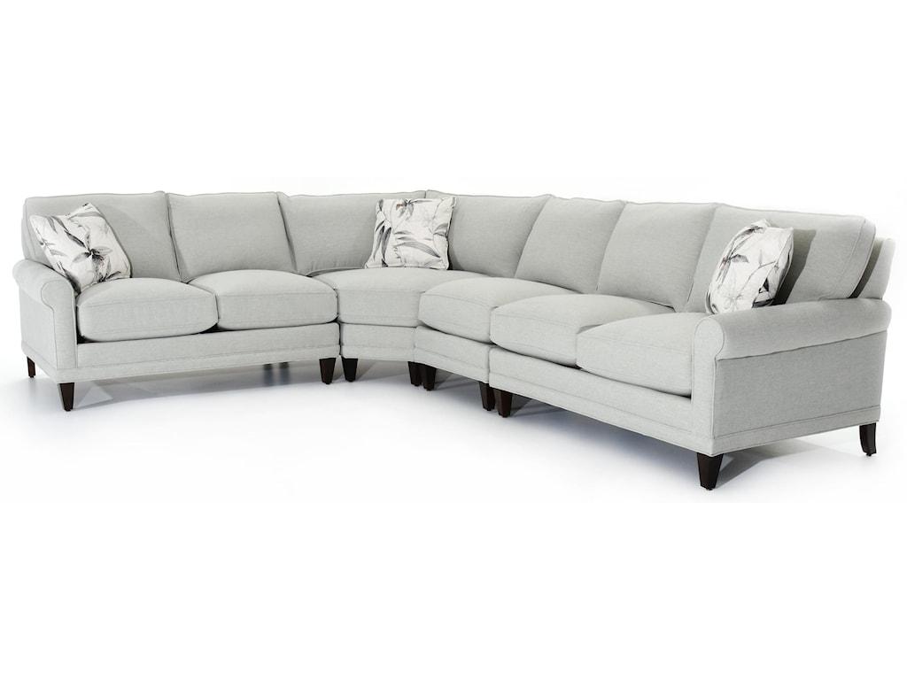 Rowe My Style IICustomizable Sectional Sofa