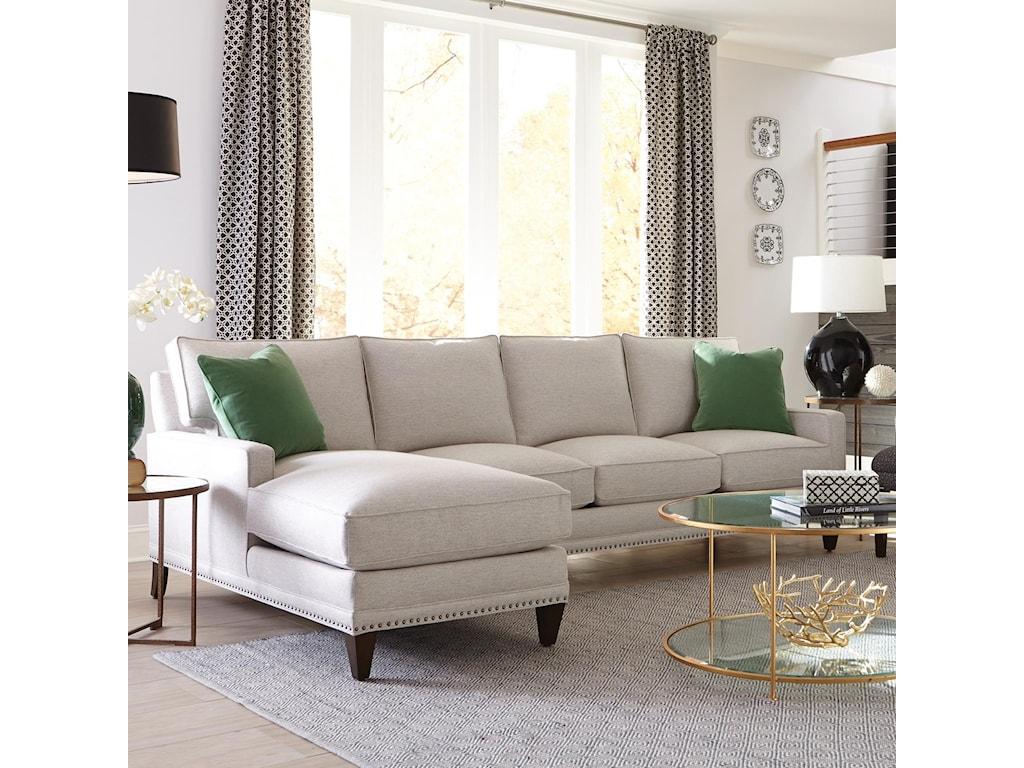 Rowe My Style IICustomizable Sofa with Left Seated Chaise
