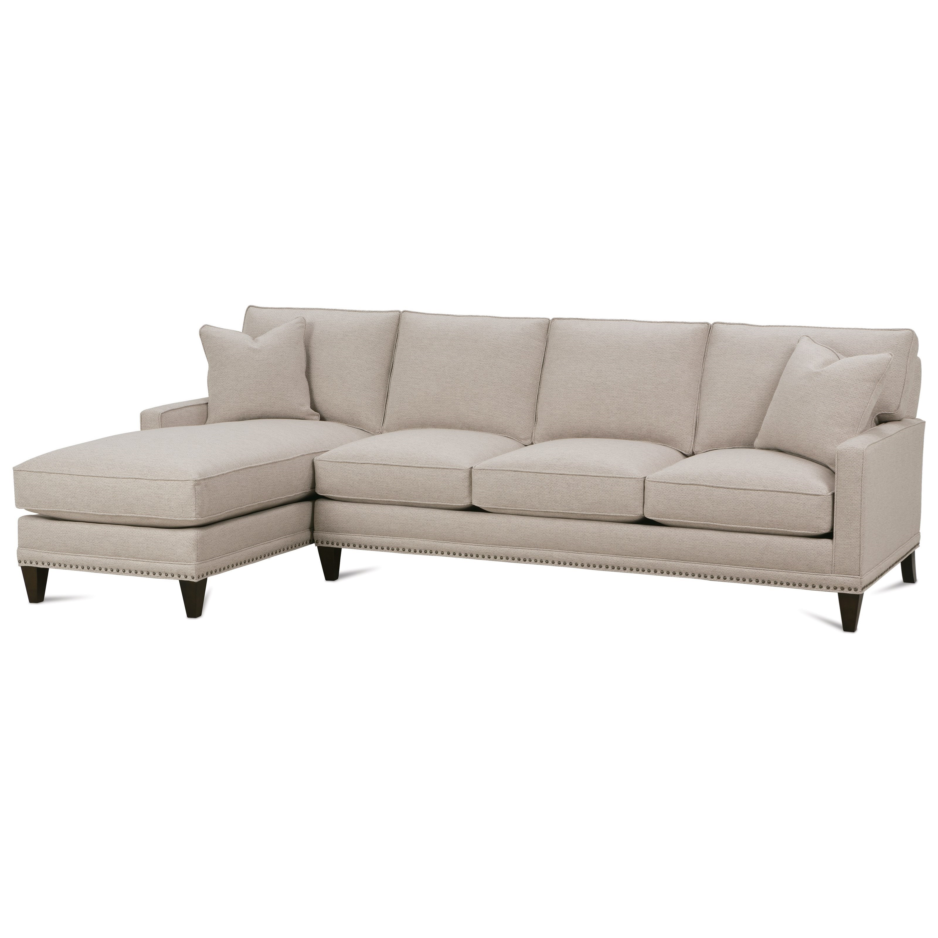 Rowe My Style IICustomizable Sofa With Left Seated Chaise ...