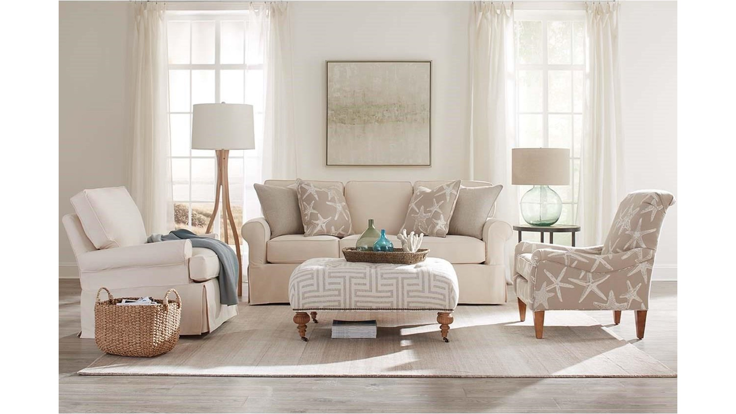 Create A Relaxed Feel With Beach Style Furniture And Decor Baer S Furniture Ft Lauderdale Ft Myers Orlando Naples Miami Florida
