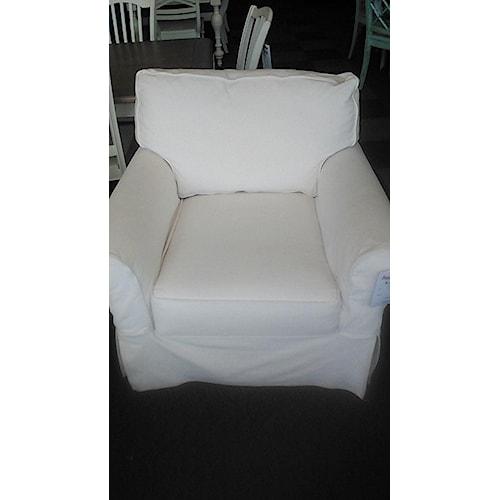 Rowe Nantucket Slipcover Chair