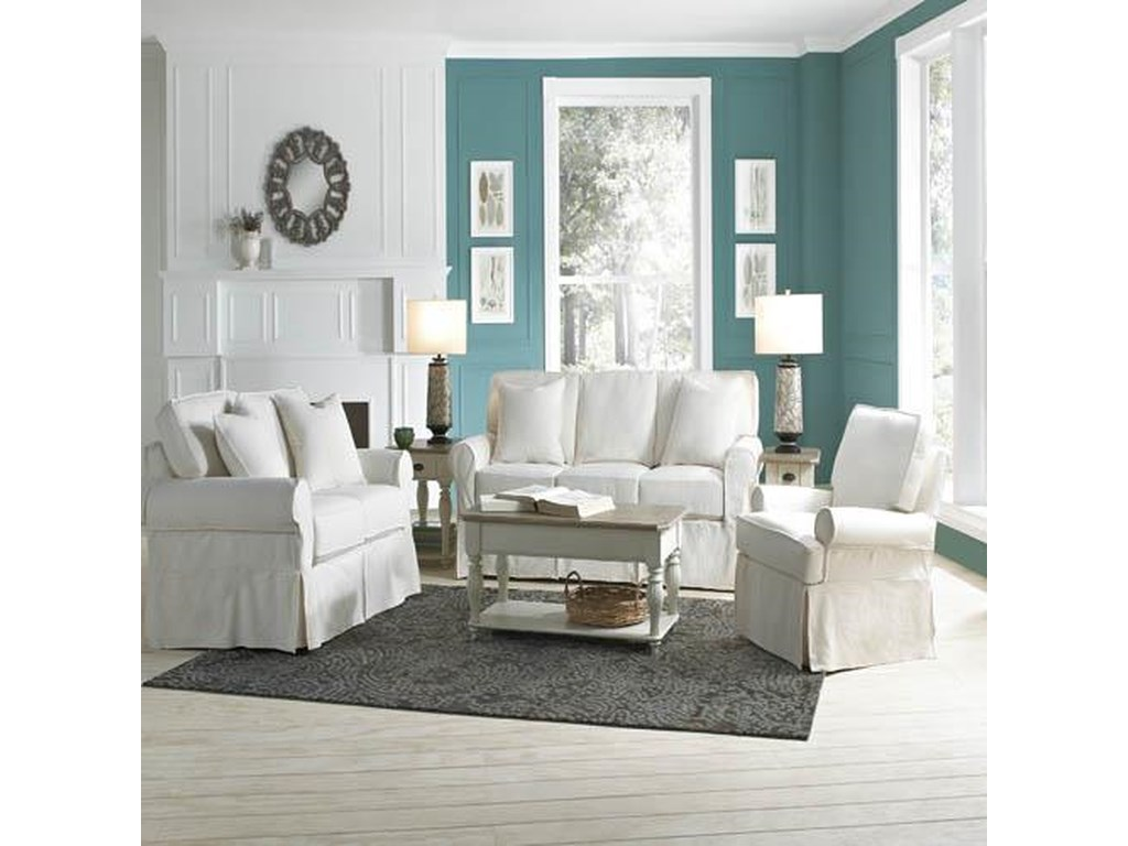 Rowe nantucket casual style sofa