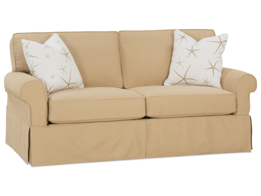 Rowe Slipcover Sofa Barnett Furniture Rowe Addison