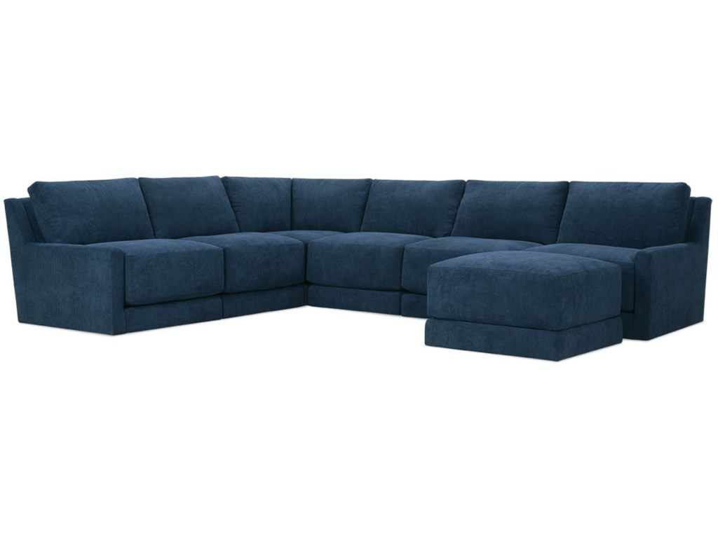 Rowe Lyall5 Seat Sectional