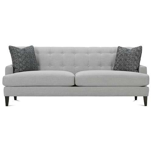 Perfect Rowe Macy Contemporary Sofa With Tufted Back