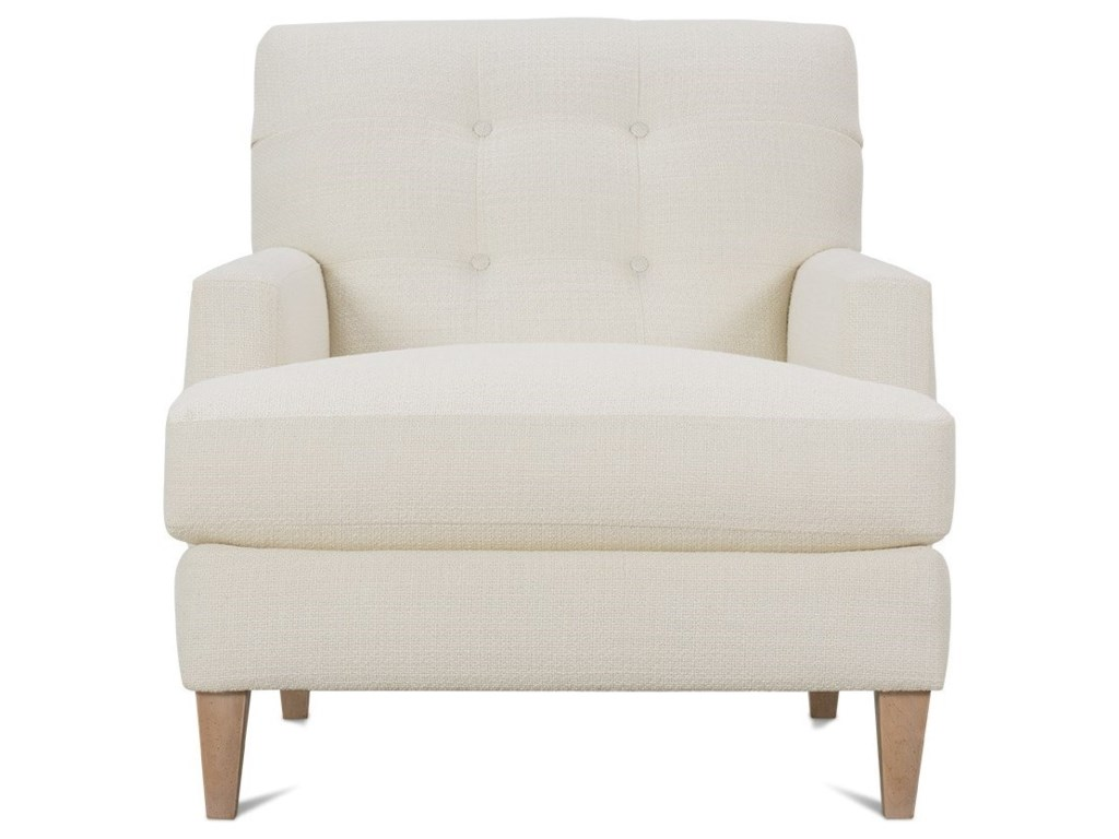 Rowe Macy Contemporary Chair with Tufted Back | Lindy\'s ...