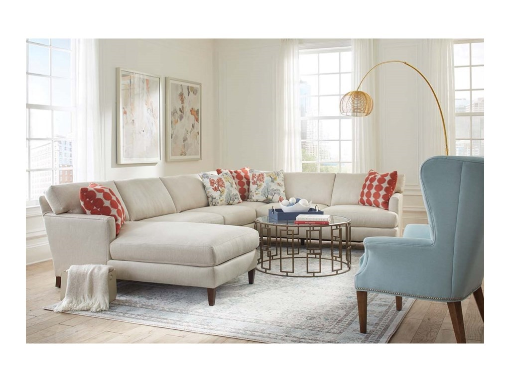 Rowe Kendall5 Seat Sectional