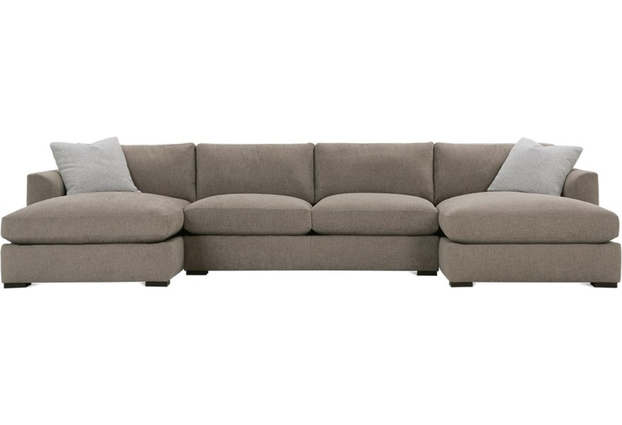 Rowe Derby Transitional Sectional Sofa
