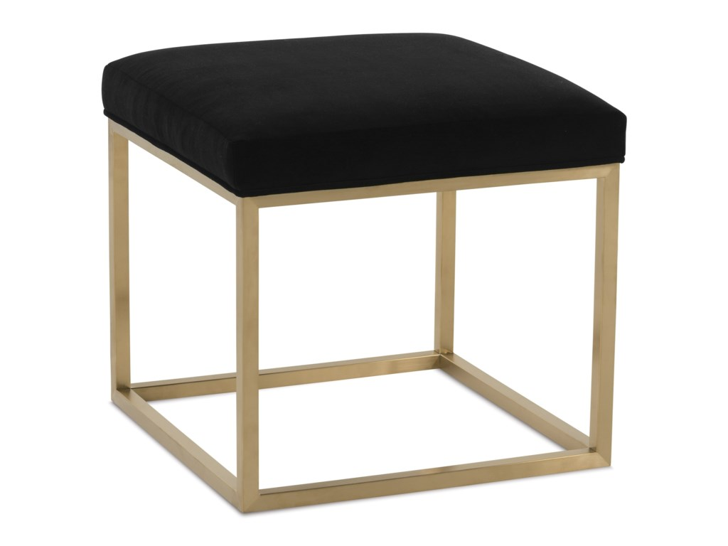Rowe PercyContemporary Accent Cube Ottoman