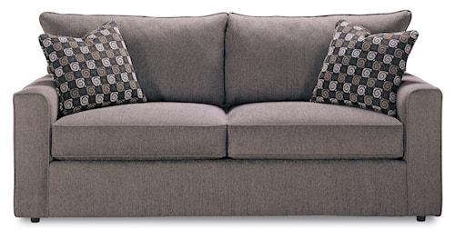 Rowe Pesci Contemporary Style Queen Size Sofa Sleeper Bullard
