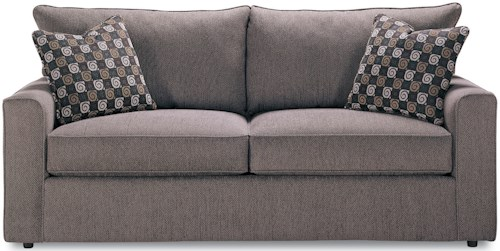Rowe Pesci Contemporary Style Queen Size Sofa Sleeper