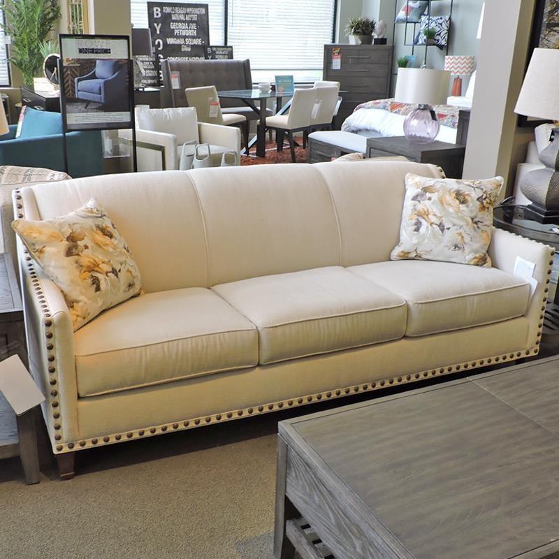 rowe rockford sofa with brass nail head trim belfort furniture sofas rh belfortfurniture com Rowe Abbott Sofa Rowe Sofa Wood
