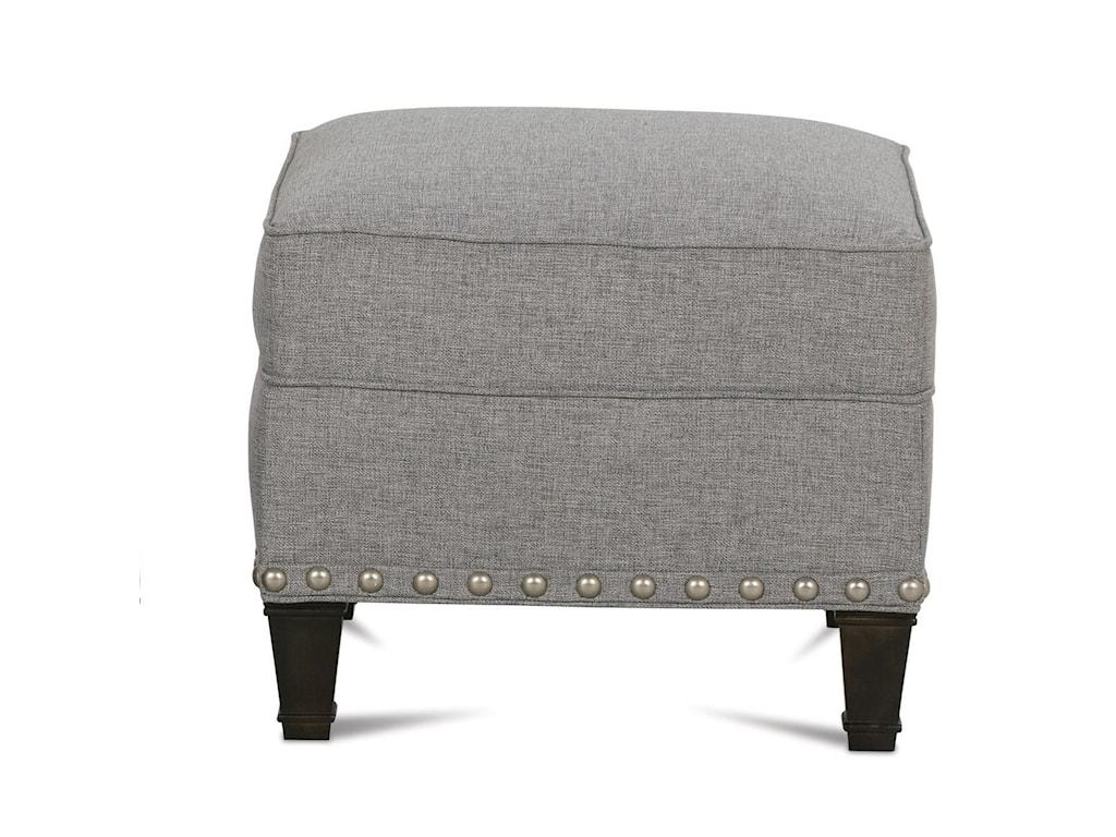 Rowe RockfordTraditional Upholstered Ottoman