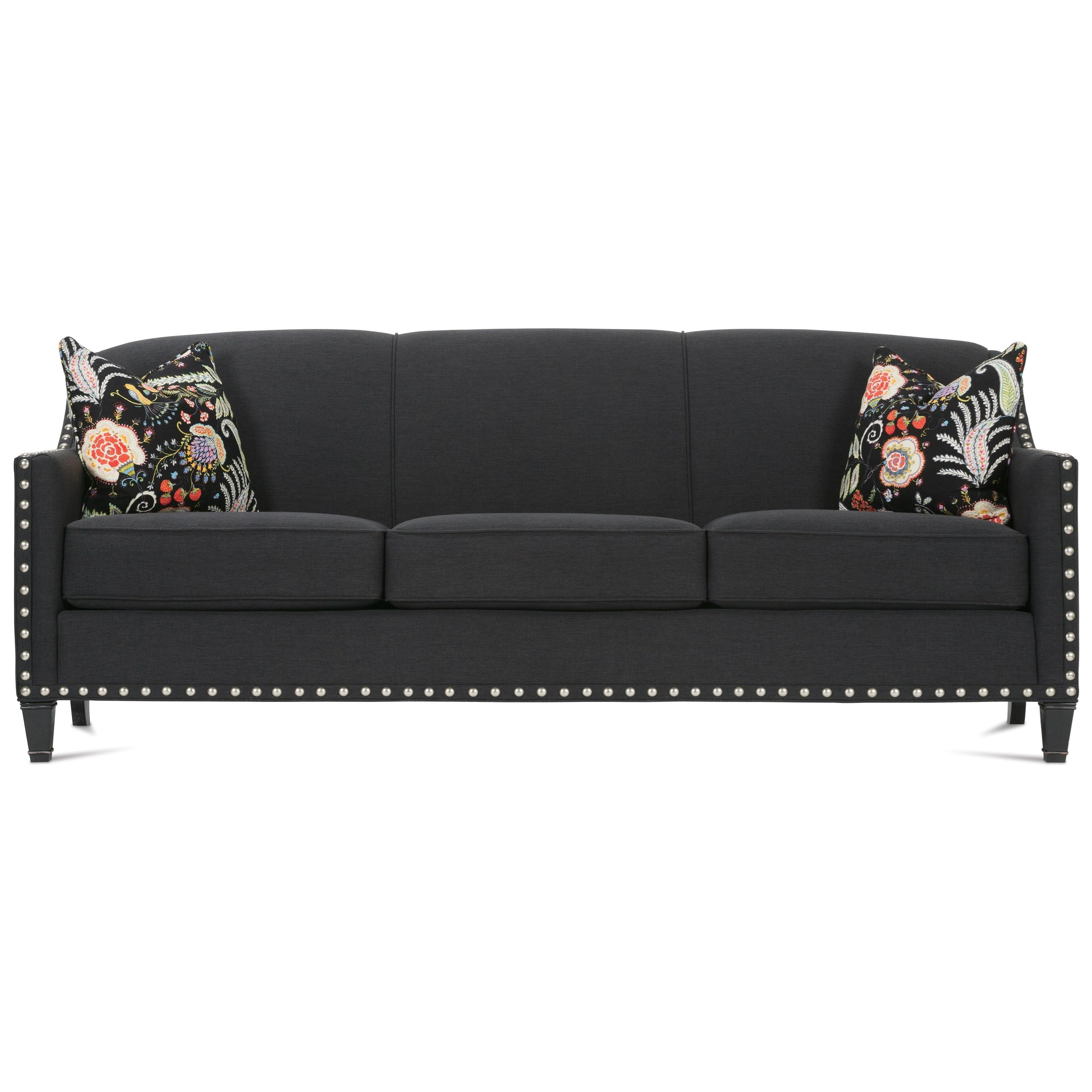 Merveilleux Rowe RockfordTraditional Upholstered Sofa ...