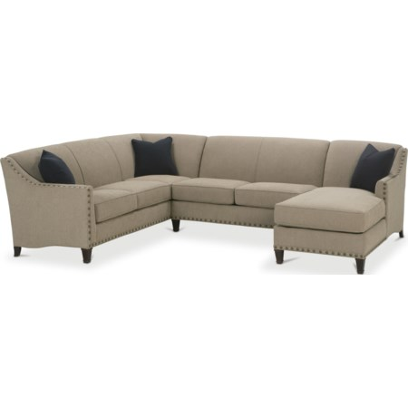 Traditional 3 Piece Sectional
