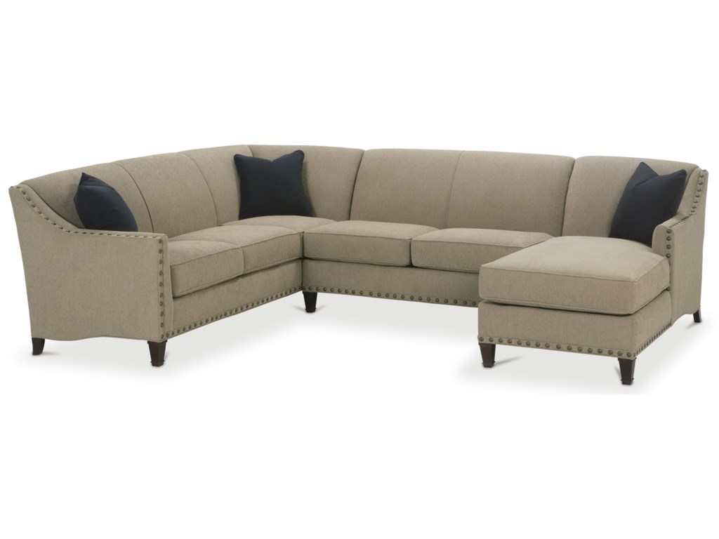 Rowe RockfordTraditional 3 Piece Sectional