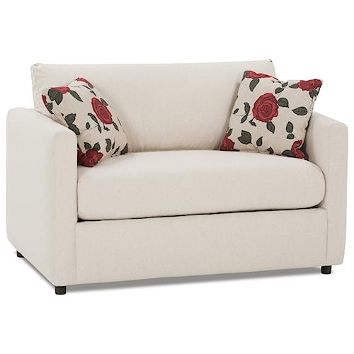 Rowe Stockdale Contemporary Twin Sleeper Chair