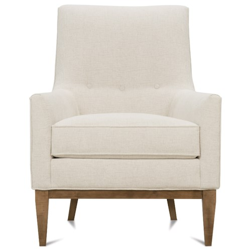 Rowe Thatcher Contemporary Wood Frame Chair