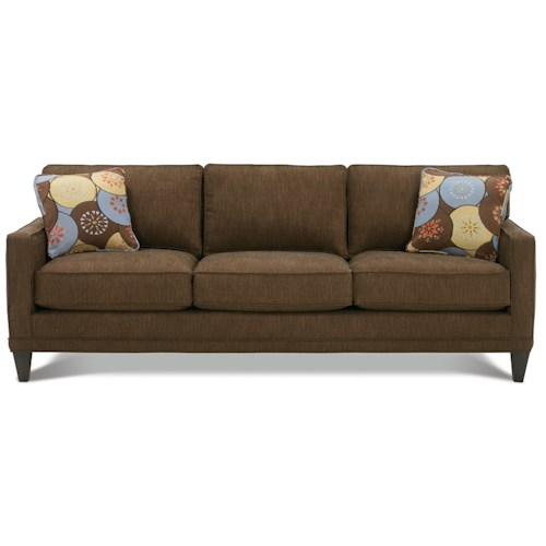 Leather Sofa Repairs In Coventry: Rowe Townsend Customizable Fabric Sofa With Track Arms