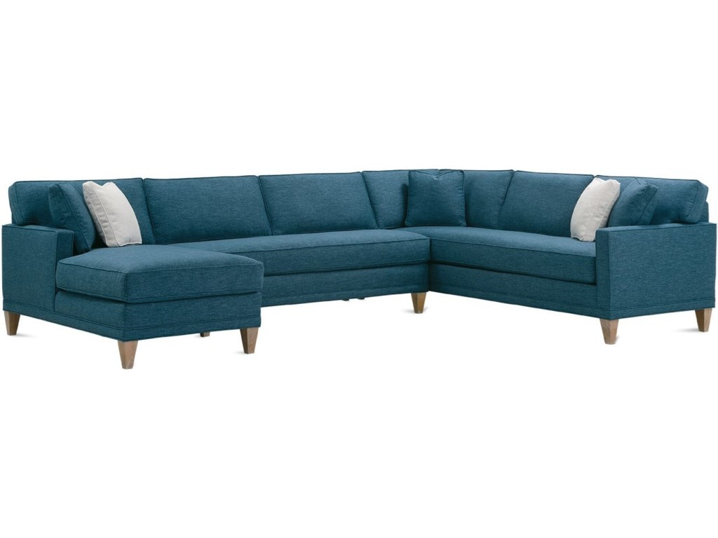 Rowe Townsend3-Piece Bench Cushion Sectional