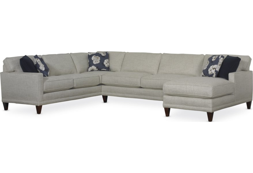 Rowe Townsend Casual Sectional Sofa