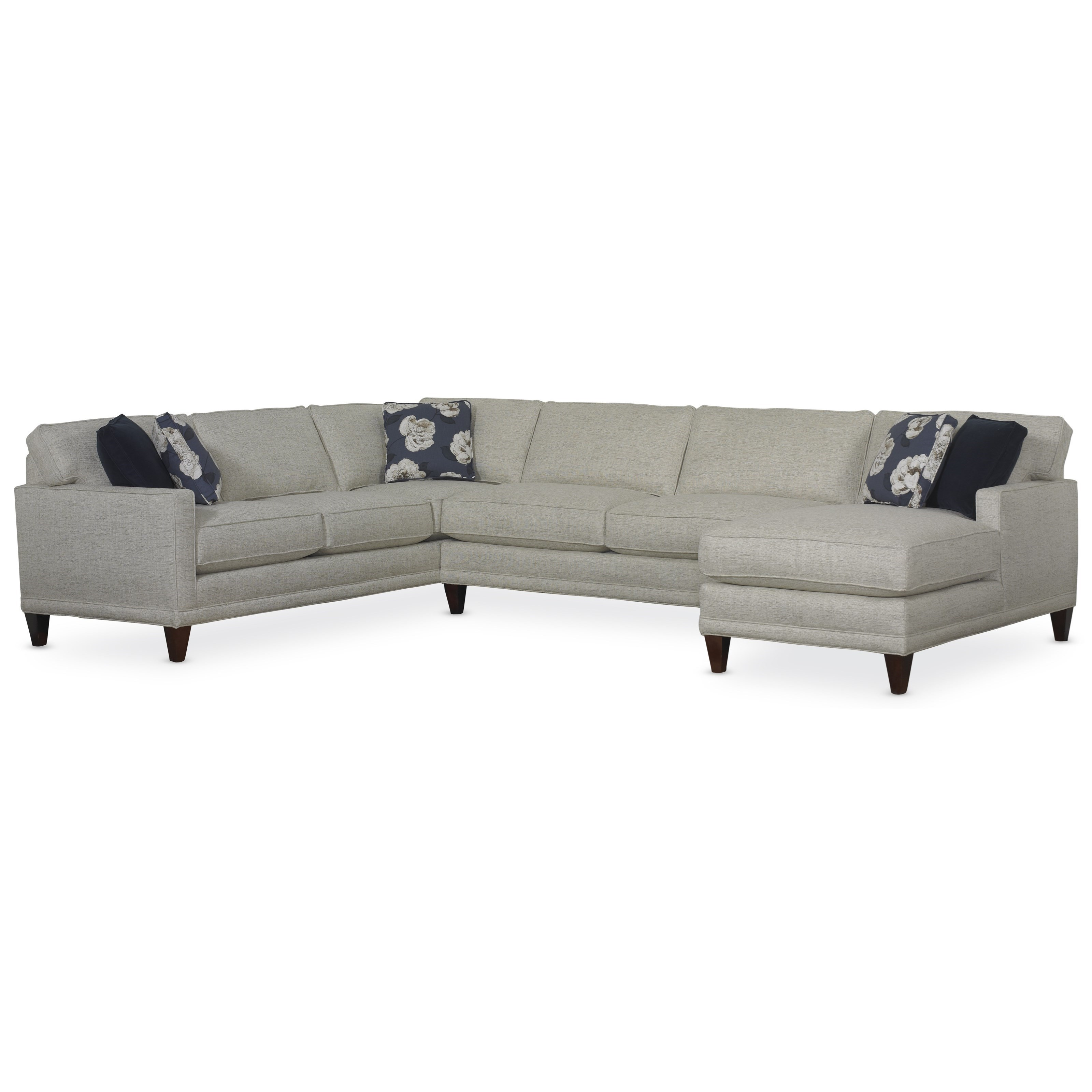 Superieur Rowe TownsendThree Piece Sectional Sofa Group ...