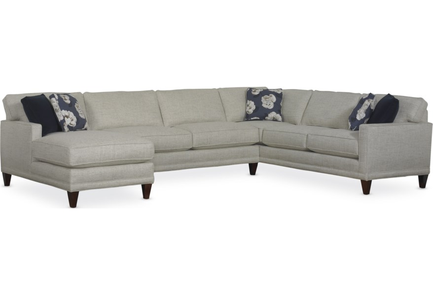 Rowe Townsend Contemporary Sofa Sectional Group Sprintz