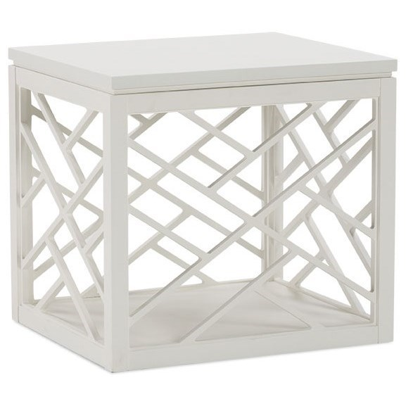 Cottage End Table with Removable Top