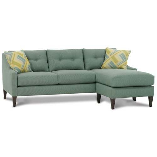 Rowe Wallace  Stationary Sofa Sectional with Chaise