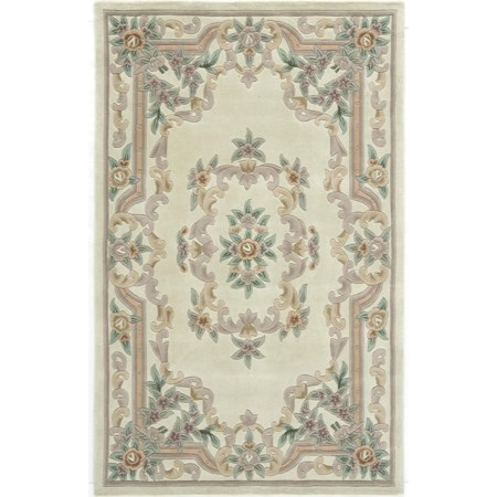 New Aubusson Ivory 8' x 11'