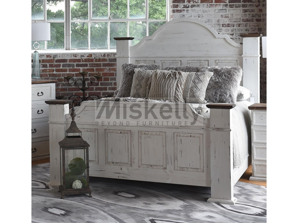 Rustic Imports GRANDEKing Mansion Bed