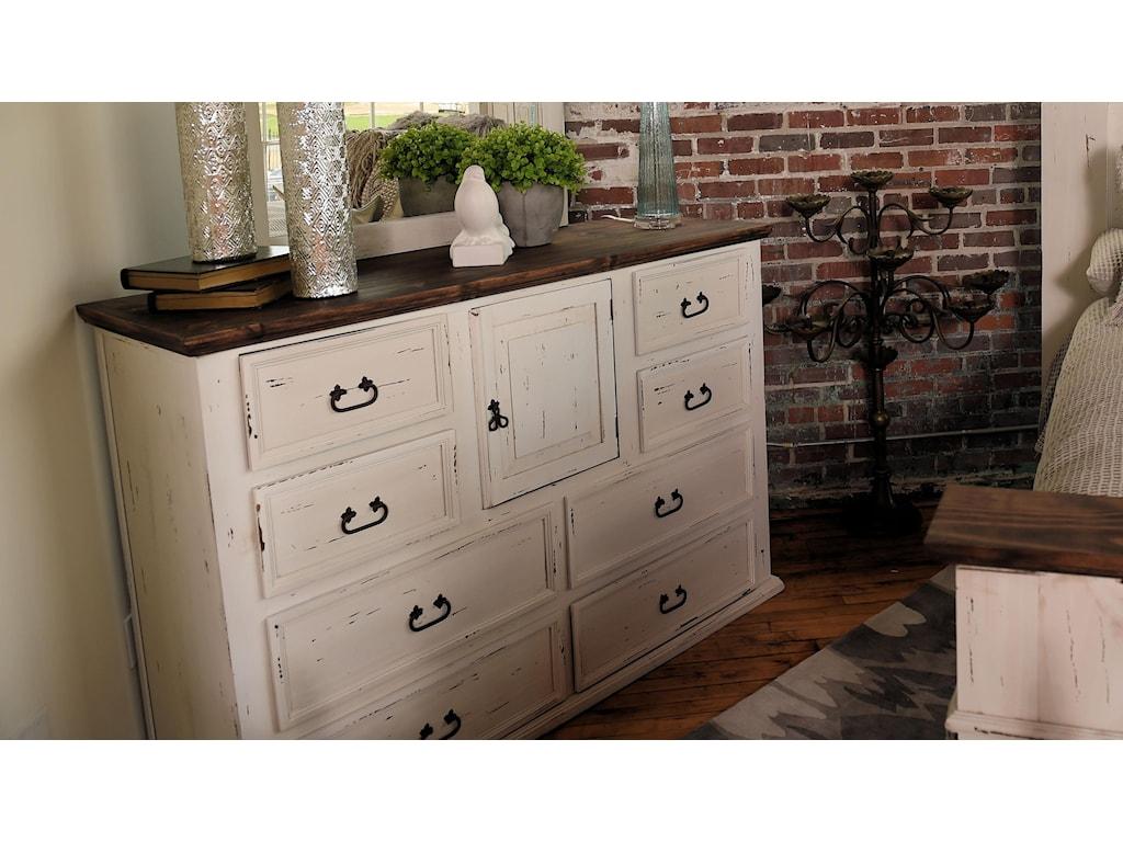 Rustic Imports GRANDESolid Wood Dresser