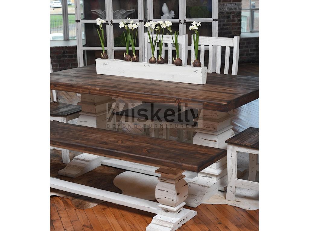 prospect lawrence table dining samuel trestle furniture hill