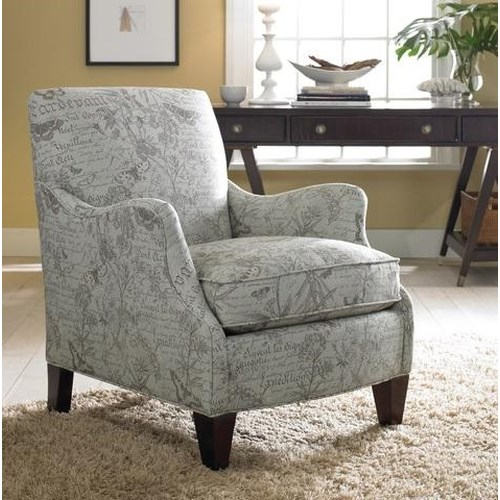 Sam Moore Aunt Jane  Upholstered Club Chair