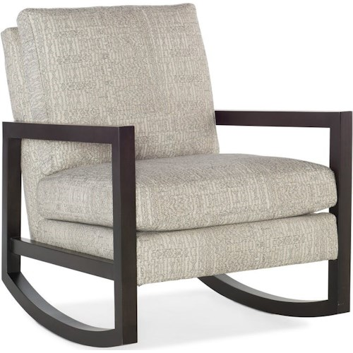 Sam Moore Rocky Contemporary Upholstered Rocking Chair