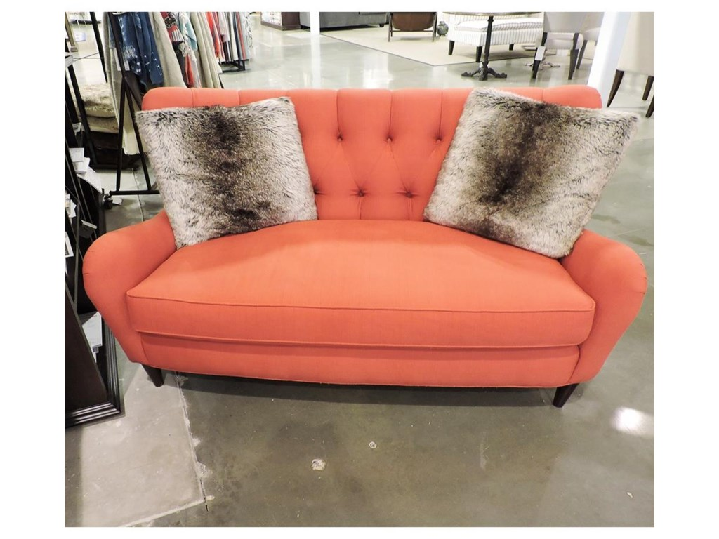 Sam Moore ClearanceTufted Settee