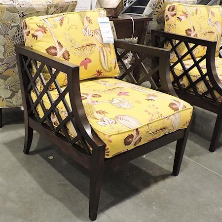 Lattice Wood Chair