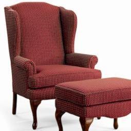 Sam Moore Annie Queen Anne Wing Chair