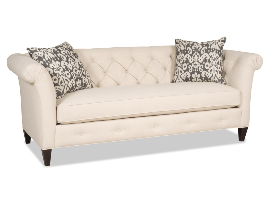 Sam Moore AstridTraditional Bench Sofa