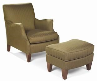 Perfect Sam Moore Aunt Jane Upholstered Club Chair U0026 Ottoman