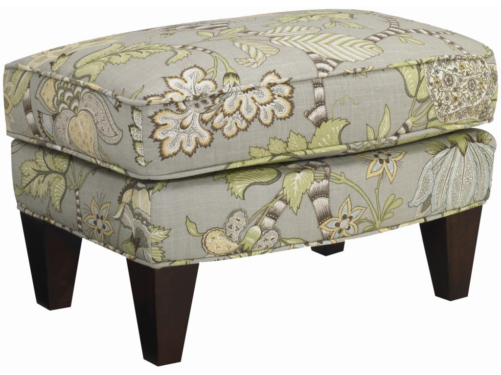 Sam Moore Aunt JaneUpholstered Ottoman