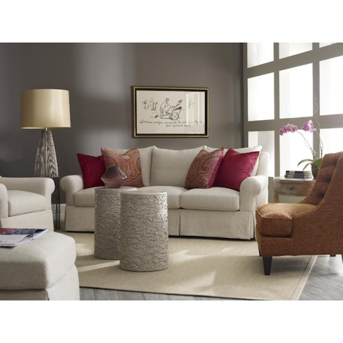 Sam Moore Carson Traditional Skirted Three Over Sofa Sprintz Furniture Nashville Franklin And Greater Tennessee