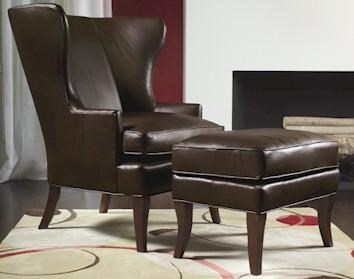 Sam Moore HamlinWing Chair & Ottoman