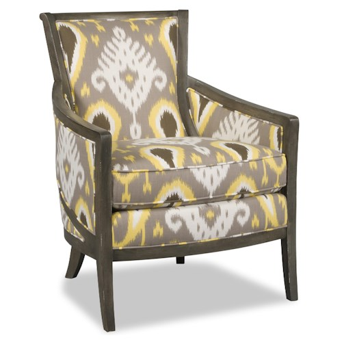 Sam Moore Kamea Contemporary Exposed Wood Chair